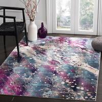 Safavieh Radiance Teal/ Pink Area Rug - 5' 1 x 7' 6