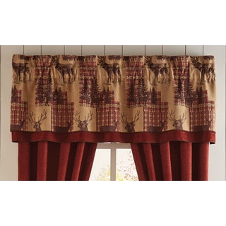 Glendale 72X20 Double Layer Curtain Valance