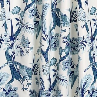 Link to Lush Decor Dolores Room Darkening Floral Curtain Panel Pair Similar Items in Window Treatments