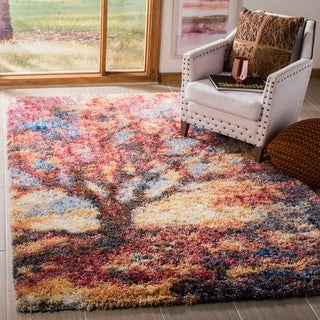 Safavieh Gypsy Shag Kyla Abstract Polyester Rug