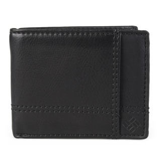 Columbia Men's Genuine Leather RFID Bifold Wallet