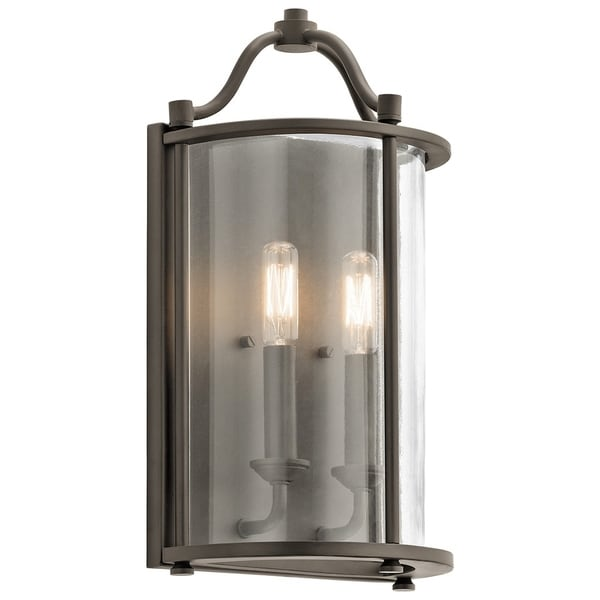 Dining Room Lighting Emory Collection Emory 3 Light: Shop Kichler Lighting Emory Collection 2-light Olde Bronze