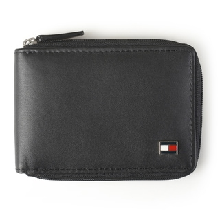 Tommy Hilfiger Men's Slim Zip Around Wallet
