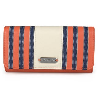 Nautica Women's Foldover RFID Blocking Clutch Wallet