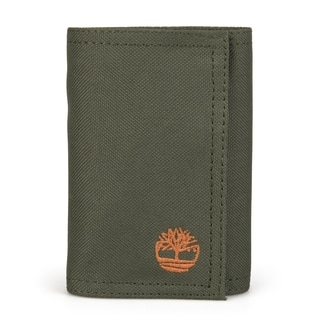 Timberland Men's Canvas Trifold Wallet