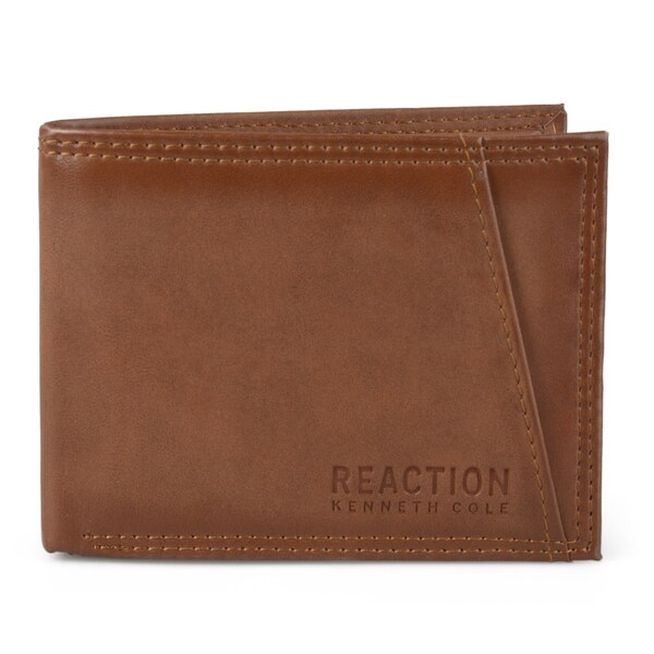 3a1d67eeb23d Shop Kenneth Cole Reaction Men's Slim Bifold RFID Wallet - Free ...
