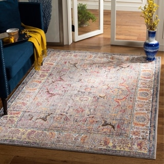 Safavieh Bristol Transitional Grey Polyester Area Rug (5' 1 x 7' 6)