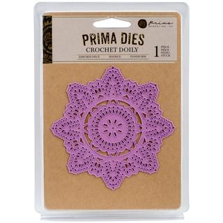 Prima Marketing Purple Metal Die-Crochet Doily