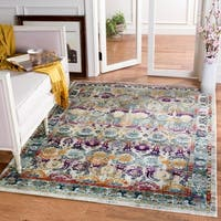 Safavieh Baldwin Transitional Cream/ Multi Area Rug - 5' 1 x 7' 6