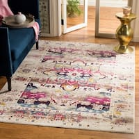 Safavieh Baldwin Transitional Cream/ Pink Area Rug - 5' 1 x 7' 6