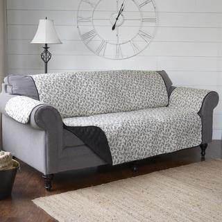 Journee Home 'Francoise' Reversible Printed Sofa Protector