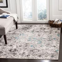 "Safavieh Adirondack Modern Abstract Grey / Black Area Rug - 5'1"" x 7'6"""
