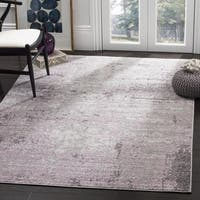 Safavieh Adirondack Modern Abstract Grey / Purple Area Rug - 5'1 x 7'6