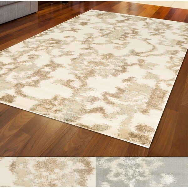 Catherine Farm House Flora Area Rug 7'10 x 10'2 by Admire Home Living - 7'10 x 10'2