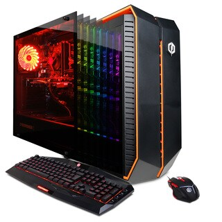 CYBERPOWERPC Gamer Master GMA5000OS w/ AMD Ryzen 5 1600X 3.6GHz Gaming Computer