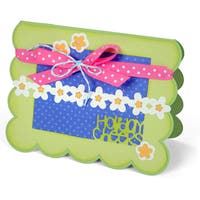 Sizzix Thinlits Dies 5/Pkg By Stephanie Barnard-Celebrate Sentiments Drop-Ins Card