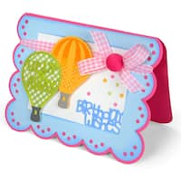 Sizzix Thinlits Dies 5/Pkg By Stephanie Barnard-Happy Sentiments Drop-Ins