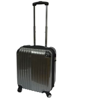 Karriage-Mate Silver 21-inch Carry On Hardside Spinner Upright Suitcase