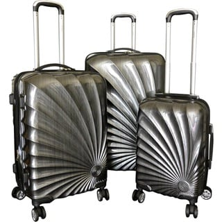 Karriage-Mate Silver Hardside Spinner Luggage (Set of 3)