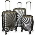 Karriage-Mate Silver 3-piece Hardside Spinner Luggage Set