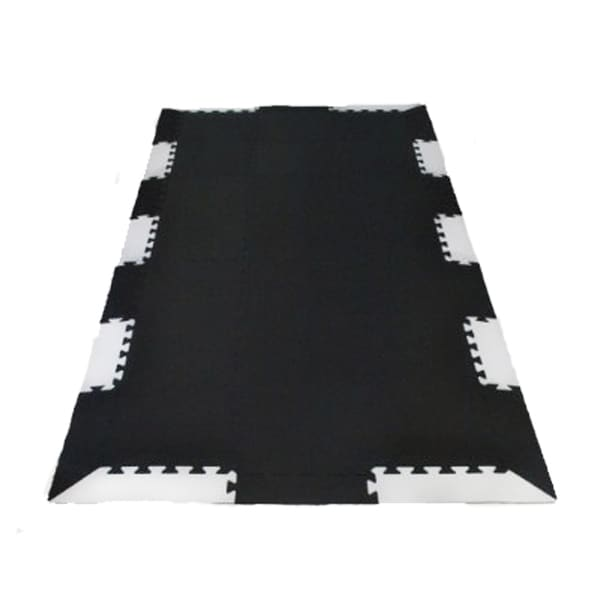 Wonder Mat Black Foam Tiles Exercise Equipment Protection Mats Extra Thick