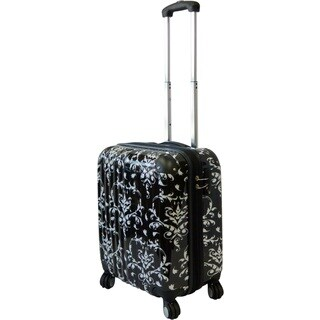 Karriage-Mate Damask 21-inch Carry On Hardside Spinner Upright Suitcase