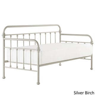 Giselle II Antique Graceful Lines Iron Metal Daybed by iNSPIRE Q Modern