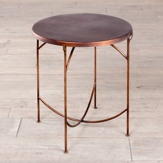 Handmade KD Occasional Table - Copper