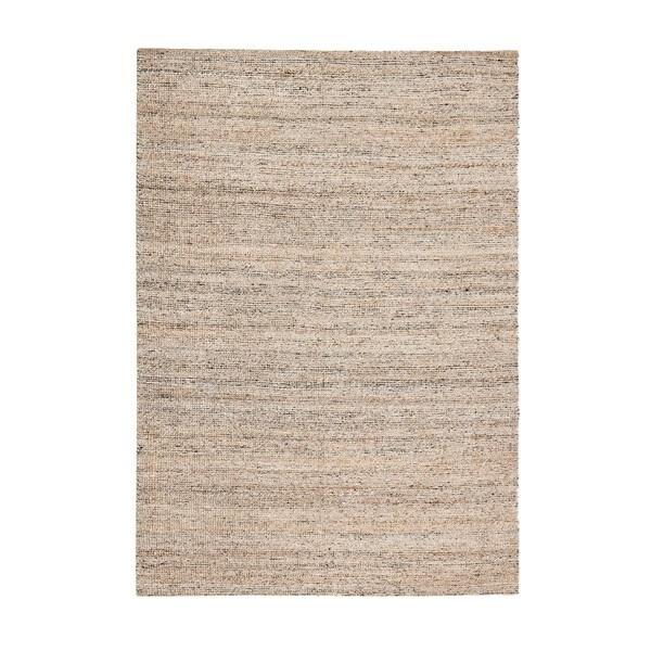 Jani Nora Black/Tan/Ivory Natural Jute and Upcycled Materials Rug (8' x 10')