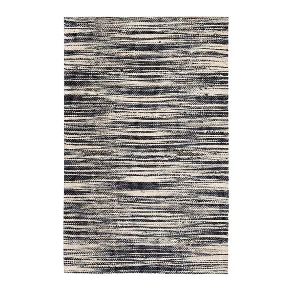 Jani Xana Ivory/ Black Jute Rug (9' x 12')