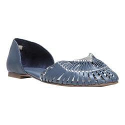 Women's Fergie Footwear Nickel d'Orsay Flat Moonlight Leather