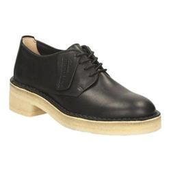 Women's Clarks Maru London Oxford Black Leather
