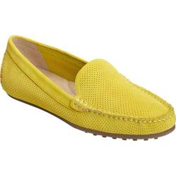 Women's Aerosoles Over Drive Loafer Yellow Perfed Suede|https://ak1.ostkcdn.com/images/products/152/96/P20526263.jpg?impolicy=medium