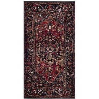 Safavieh Vintage Hamadan Traditional Red/ Multi Distressed Area Rug (2' 2 x 4')