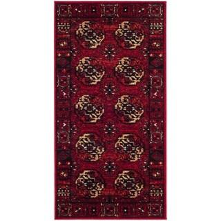 Safavieh Vintage Hamadan Traditional Red/ Multi Area Rug (2' 2 x 4')