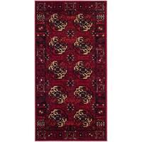 """Safavieh Vintage Hamadan Traditional Red/ Multi Area Rug - 2'3"""" x 4'"""