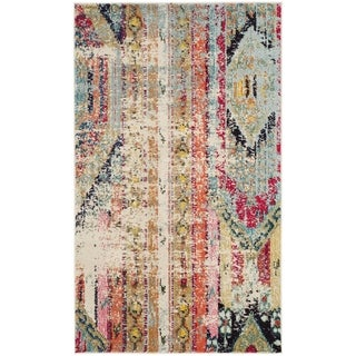 Safavieh Monaco Vintage Boho Multicolored Distressed Rug - multi - 2'2 x 4'