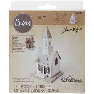 """Sizzix Bigz Die By Tim Holtz 5.5""""X6""""-Village Bell Tower"""