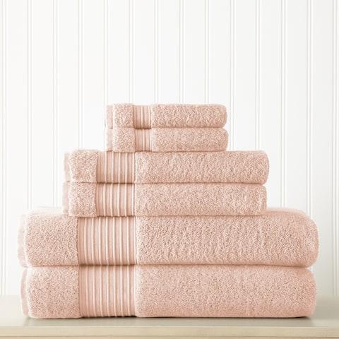 Modern Threads 6-Piece 700GSM 100% Turkish cotton towel set