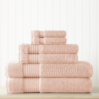 Amrapur Overseas 6-Piece 700GSM 100% Turkish cotton towel set