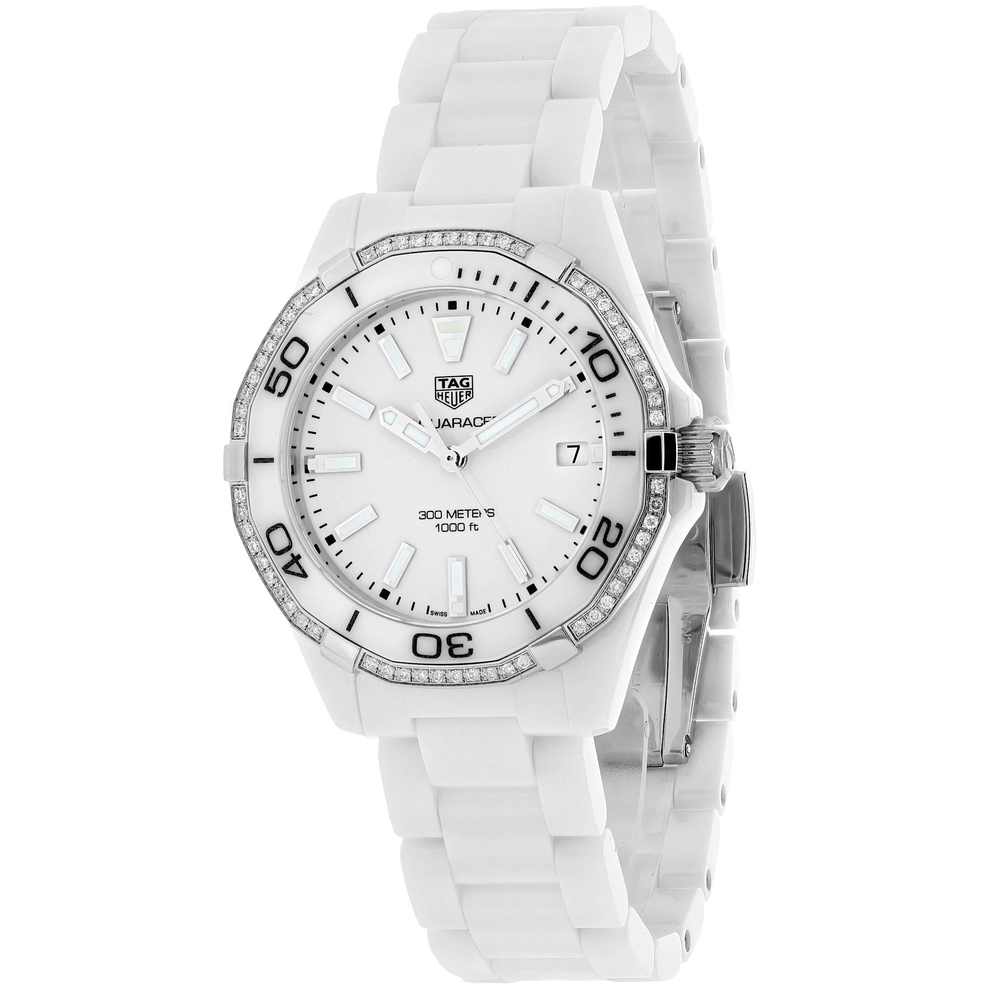 Tag Heuer Women's WAY1396.BH0717 Aquaracer Watches (Aquar...