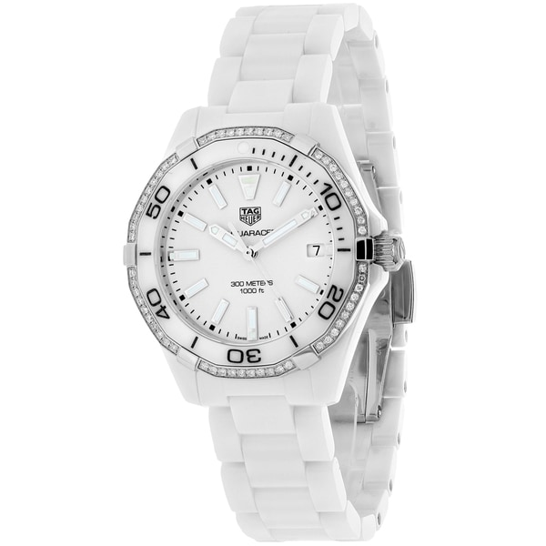 Shop Tag Heuer Women's Aquaracer Watches - Free Shipping Today - Overstock - 15201241