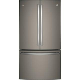 "PWE23KMKES 36"" Energy Star Counter Depth French Door Refrigerator"