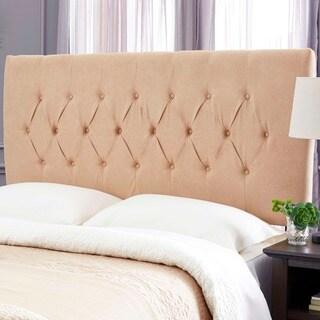 Humble + Haute Hudson Khaki Suede Upholstered Headboard