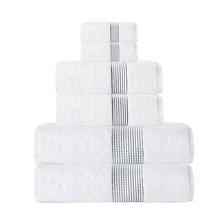 Enchante Home Elegante 6-Piece Turkish Cotton Towel Set (Option: Anthracite)