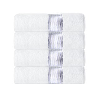 Enchante Home Elegante Bath Towel (Set of 4) (Option: Anthracite)