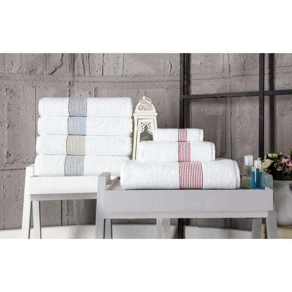 Enchante Home Elegante Hand Towel (Set of 8)