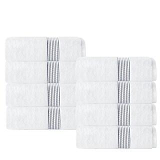Enchante Home Elegante Hand Towel (Set of 8) (Option: Anthracite)