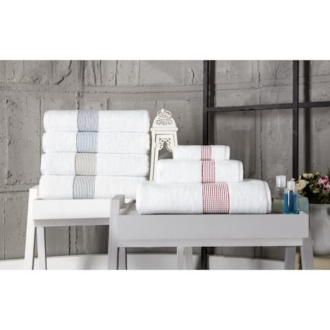 Enchante Home Elegante Hand Towel (Set of 8) - 16x28 inches