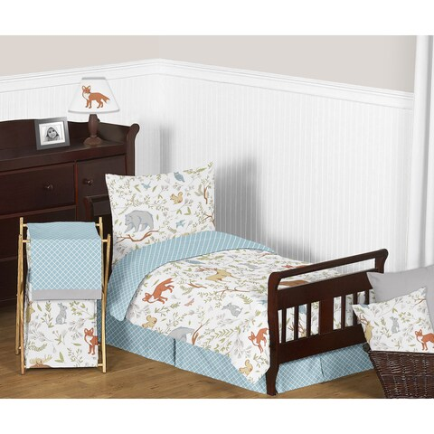 Sweet Jojo Designs Woodland Toile Comforter Set